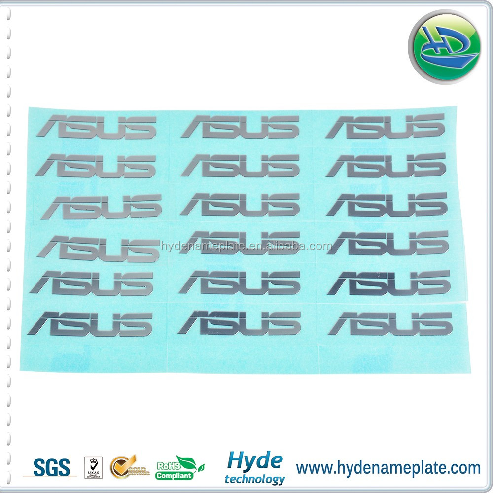 Manufacturers Custom Die Cut Machine Adhesive Metal Stickers - Custom die cut stickers machine