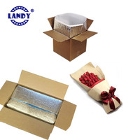 thermal insulation/liner,packing flowers boxes with liners