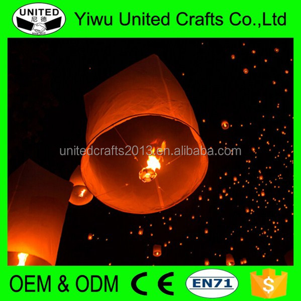 Sky Fire Floating Flying Chinese Lanterns