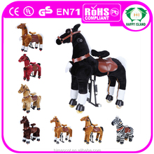 HI Meet CE,AZO and RoSH standard hot sale mechanical bouncing horse toy riding