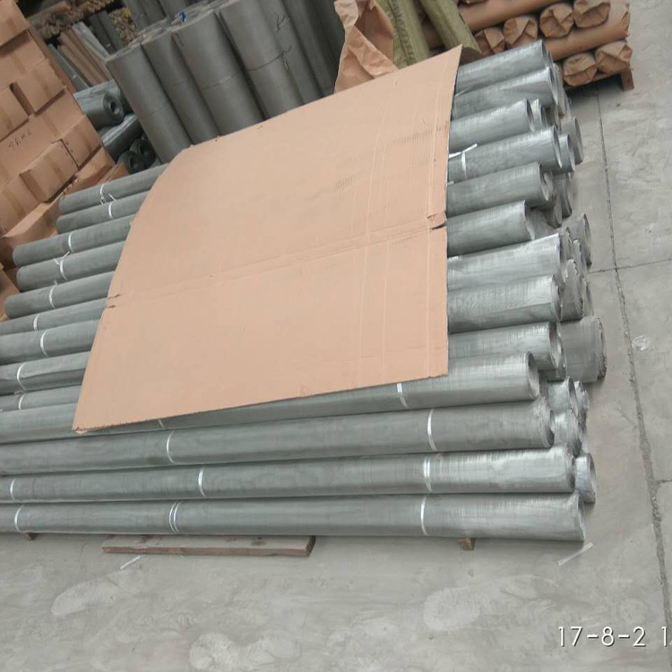 acid-resisting super wide stainless steel filter netting