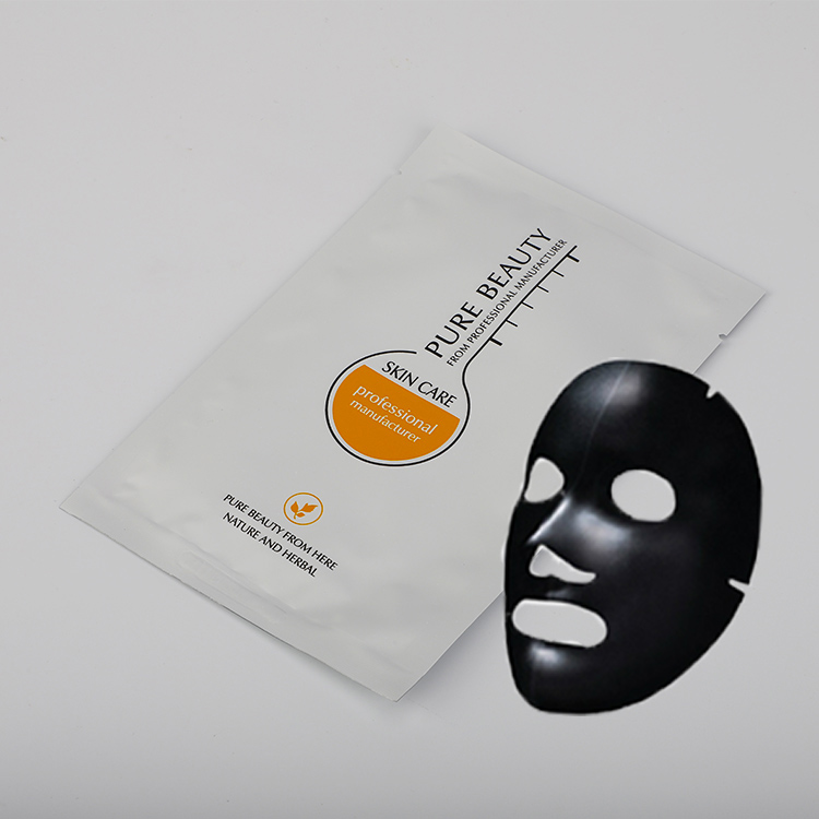 OEM wholesale collagen sheet mask bamboo charcoal remove blackhead facial mask