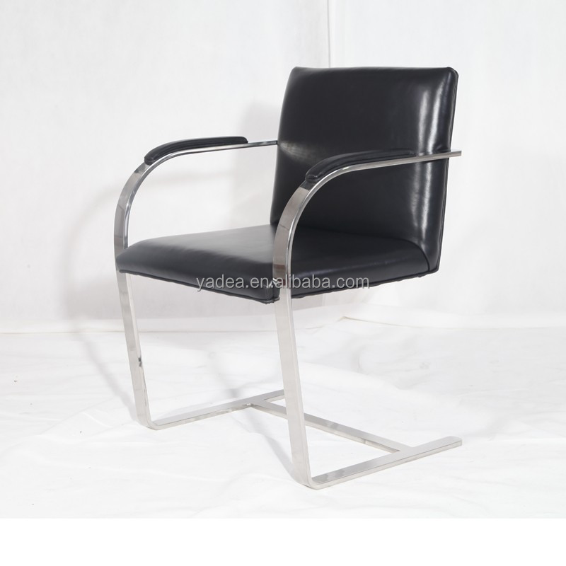 Real leather office chair Brno chair with armchair