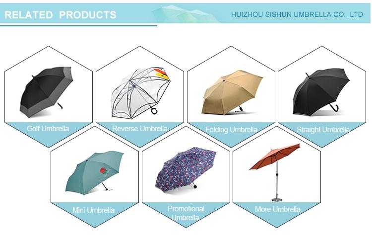 Özel şemsiye ters Parapluie J kolu manuel Sombrillas ters şemsiye