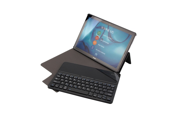 10.8 Detachable tempered glass key bluetooth keyboard stand for Huawei M5
