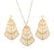 63234 Xuping Fashion 18k gold jewellery dubai, Metal Pendant Earring Jewelry Set Charming Gold Jewelry Set
