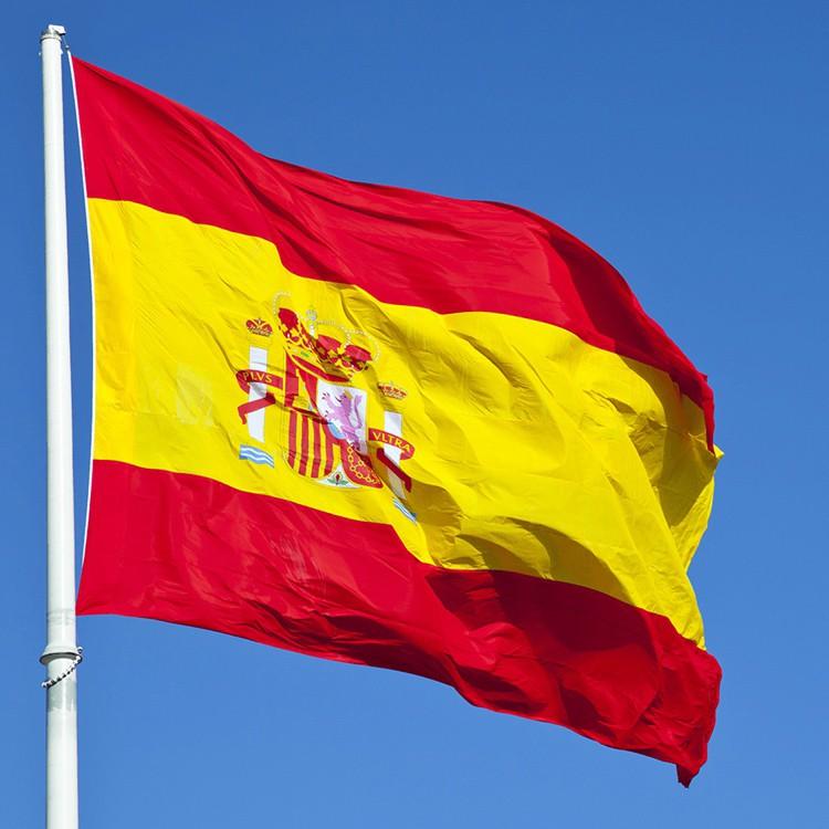 Penjualan Terbaik Kustom Semua Bendera Negara Spanyol Untuk Mencetak