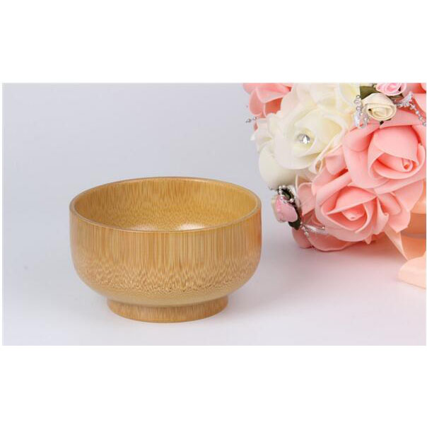 handmade crafts bamboo wooden bowl for child eco-friendly