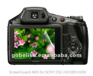 For sony DSC-HX100V,HX9V camera transparent screen guard/protector/cover