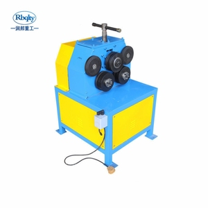 JY-40 Hot selling products vertical angle steel crimping machine roller iron machine