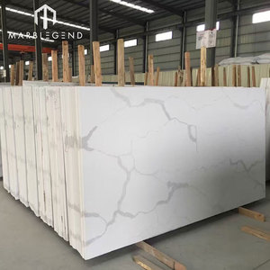 wholesale cheap price engineered stone artificial carrara white marble slab