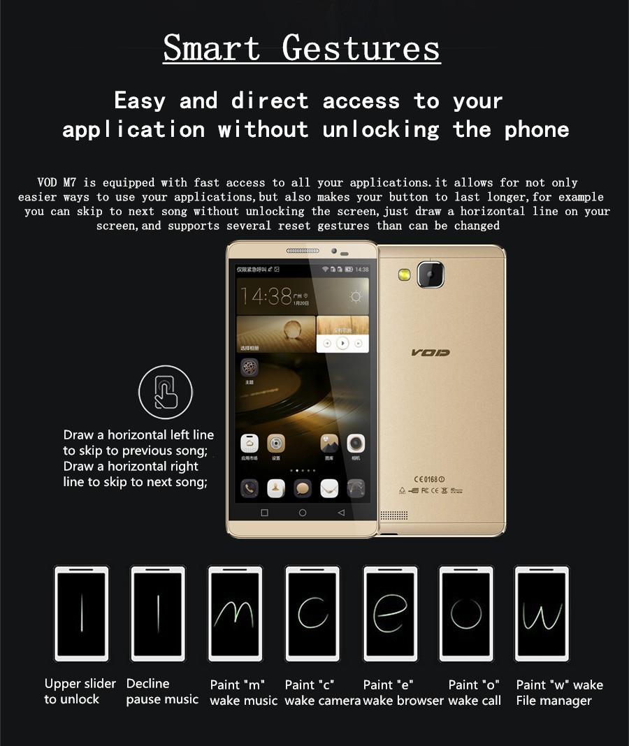 Original Phone Mate 7 5 5 inch IPS Screen 1280X720P MTK6592 Octa