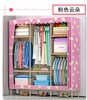 Home Portable Furniture E Saving Clothes Storage Closet Modern Wardrobe