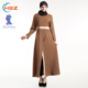 Zakiyyah E012 New Arrival Muslim Women Ladies Abaya Solid Color Hot Sell In Turkey