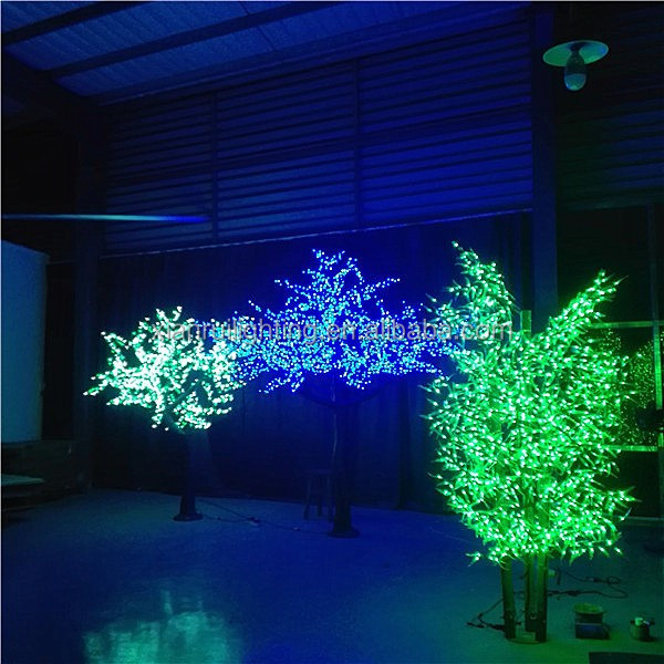 Artificial wholesale lighted christmas low price bamboo for Cheap outdoor christmas lights