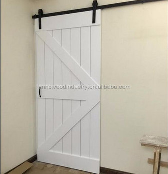 Soundproof Interior Dressing Room Sliding Barn Door From China Manufacturer