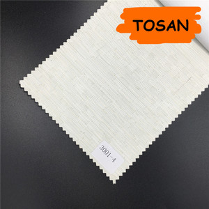 Tosan double layer shade white wood shades roller blind kit
