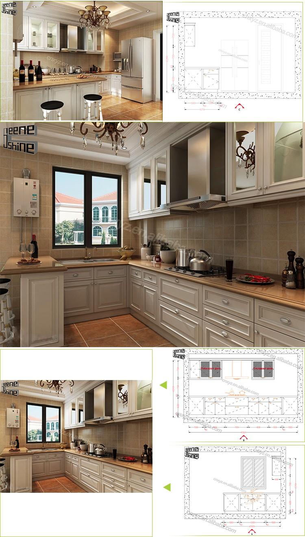 Home Kuche Feuchtigkeitsbestandig Material Moderne Kuche Design Holz