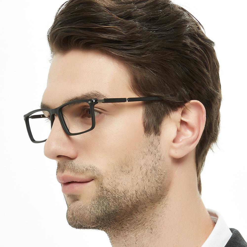 5c3a26477 الصين الجملة أزياء الرجال الإطار البصرية نظارات 2018 جديد نموذج نظارات