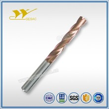 5D Internal Coolant Tungsten Carbide Twist Drills Bits for Cast Iron Machining