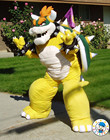2015 bowser costume / bowser mascot costume / parti caractères costume