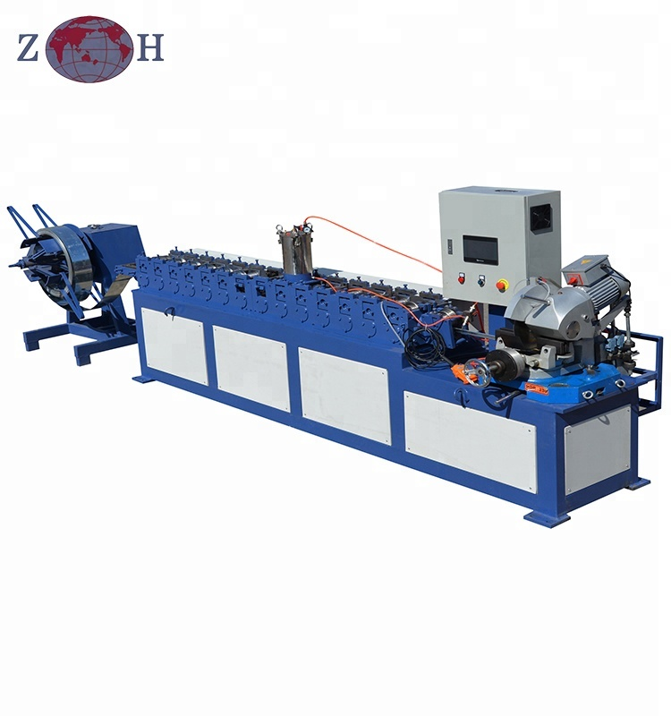 tdf/tdc flange making machine for square duct ventilation