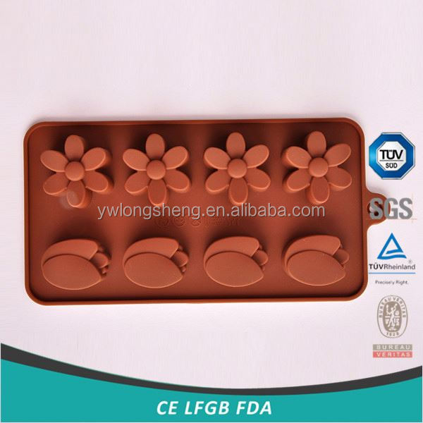 Hot selling top sale silicone cake mold for children 2016
