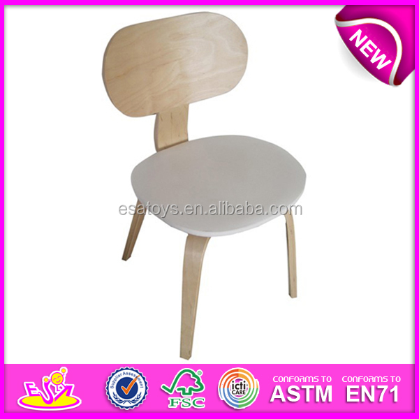 wooden toy unique kids chairs,best sell curve wooden kid chair toy