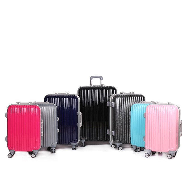 2015 New style quality PC ellen tracy luggage, royal polo luggage trolley case