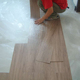 Embossed wood grain non-slip pvc plastic vinyl flooring peel and stick