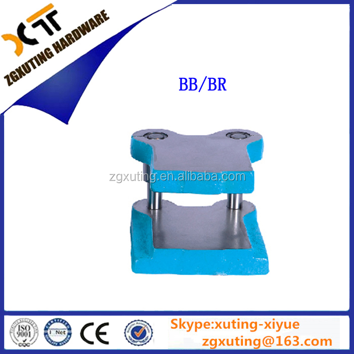 BB,BR ,CB,CR ,DB,DR Column type standard cast iron mold base