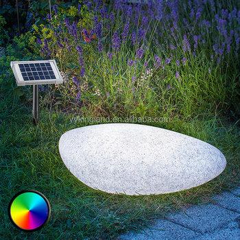 Luz Neu Jardín Luminaria luz La Piedra Solar Lámpara De Buy luz Roca Estanque Solar Led BeWEroCxQd
