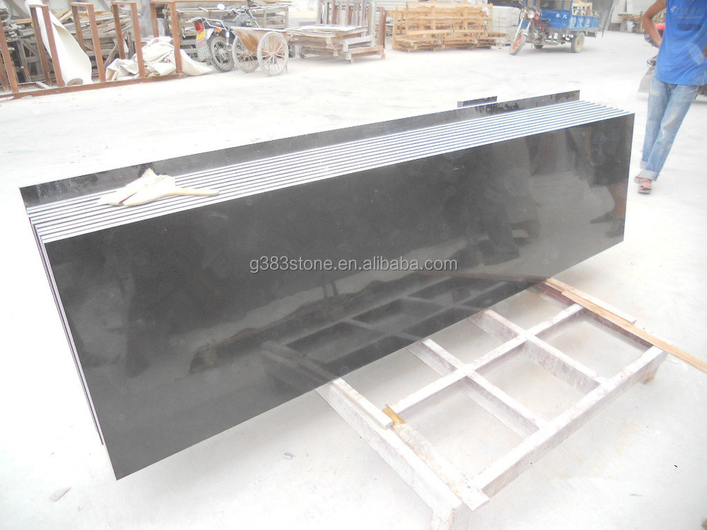Polished Surface black Granite Tiles, Quarry And Factory Owner