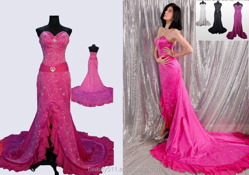 Beauty511 Ready Stock Evening Prom Dress Crystal Beading Sheath ...