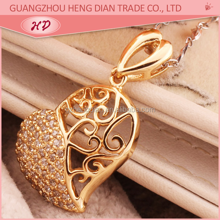 New arrival fashion jewelry gold plated new design gold pendant ...