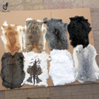 Wholesale Rabbit fur pelts real fur natural rabbit skin with cheap price