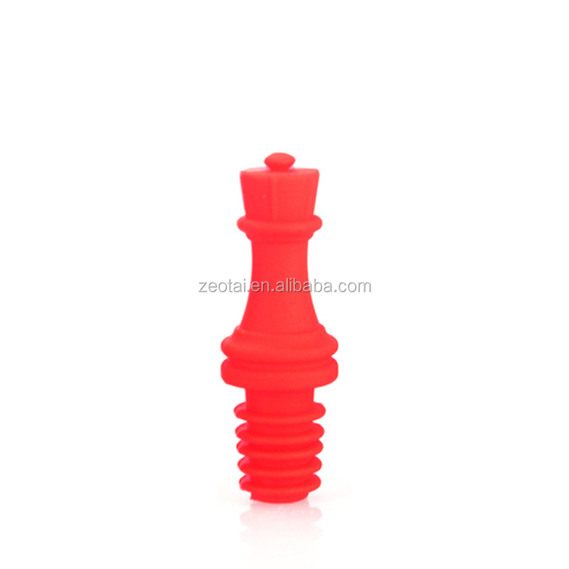Silicone Beer Wine Glass Bottles Stopper , Wine Glass Bottle Plug , Silicone Wine Bottle Cork