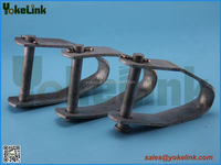 Single spool D iron bracket for electric power