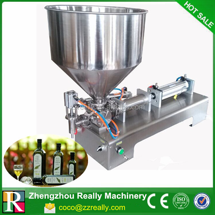 Semi-Automatic Avon Deodorant Paste/Liquid Bottle Piston Filling Machine
