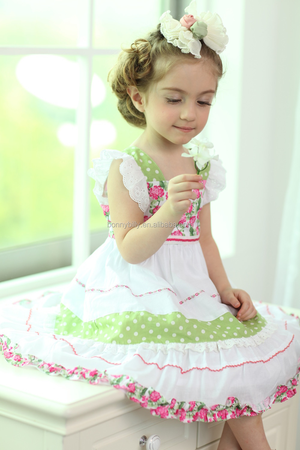 New Model Girl Dress For Baby Girls Wholesale Baby Clothes