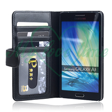 PU Leather Card Slots Folio Case for Samsung Galaxy A5
