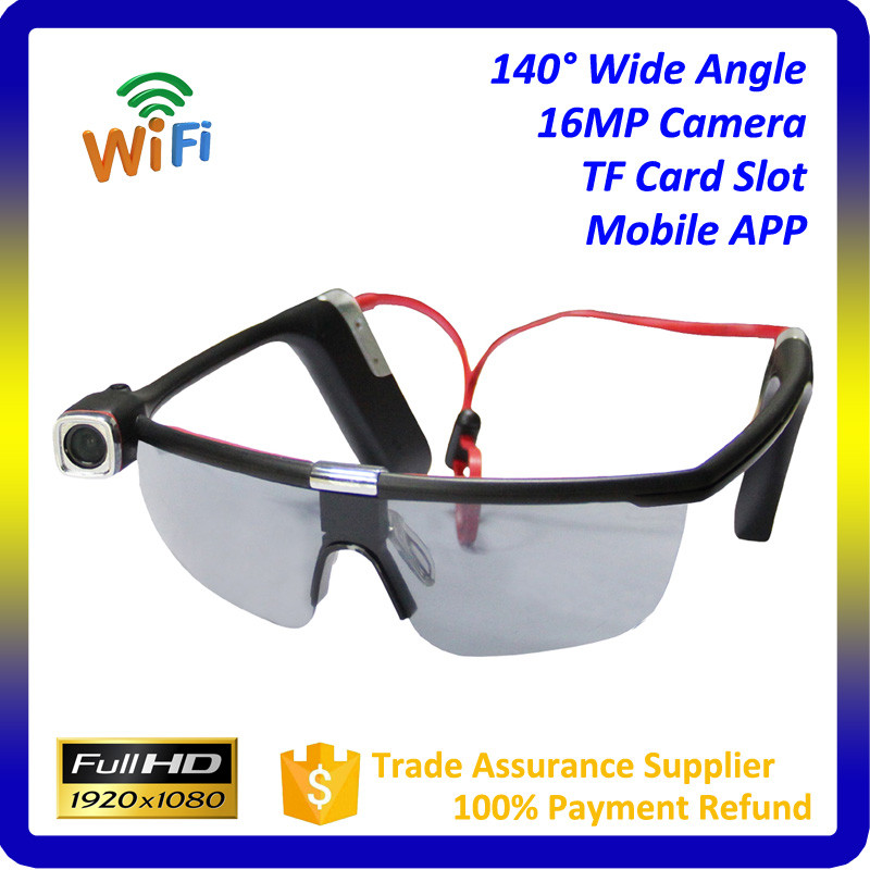 32GB Spy Camera Sunglasses 1080P DV DVR Hidden Camera Eyewear DVR Video Recorder Sport Camcorder DVR