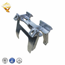 precision cast galvanized Brackets For cluster mounting recloser banks on utility distribution poles