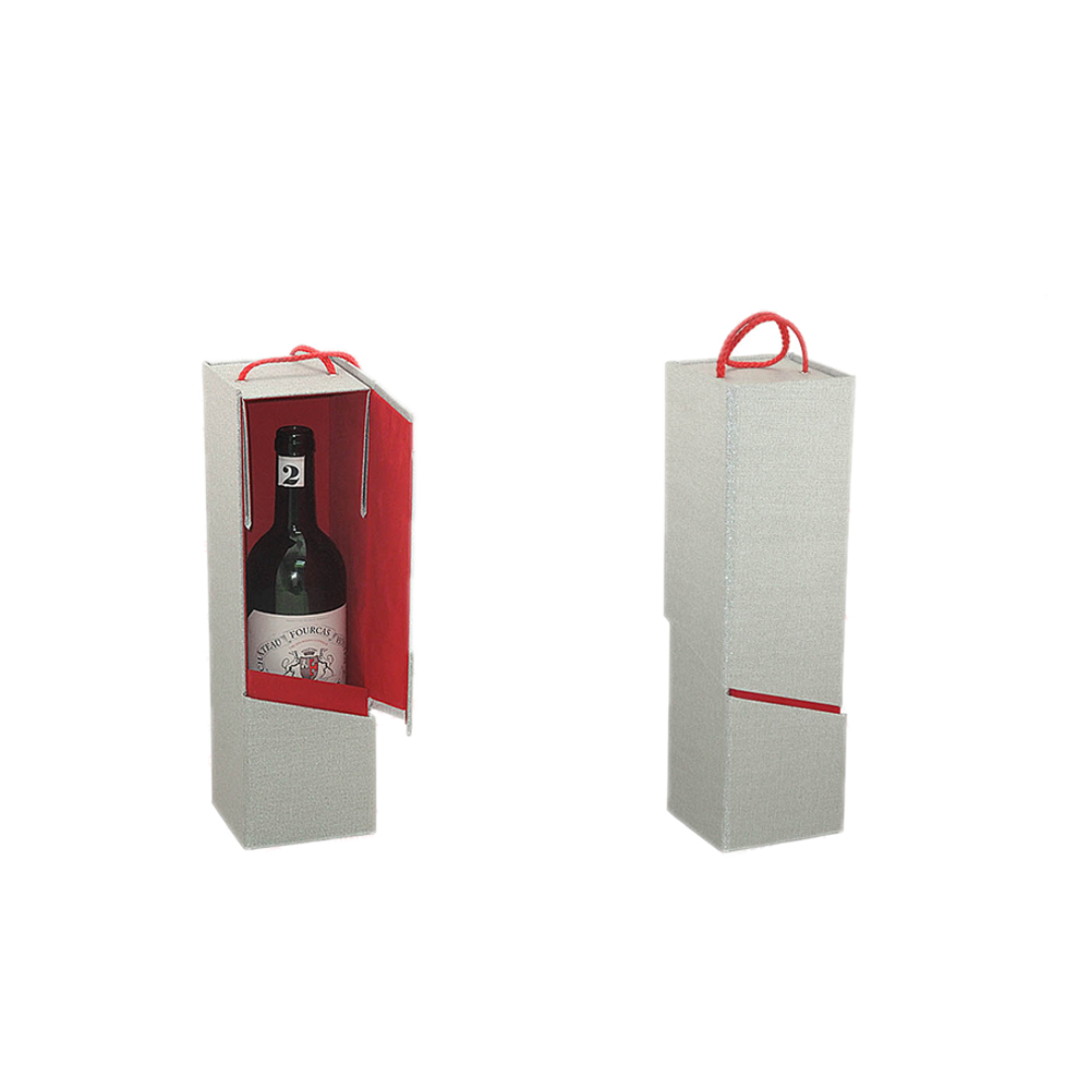 High quality wine carry gift box with glass
