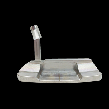 New Style High Quality Blade Shape CNC Finishing  Forged Silver Putter Heads with screw for Right Hand