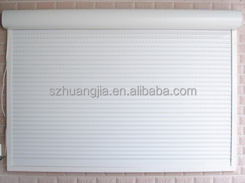 Modern House Motorized Aluminum Cabinet Roll up Door