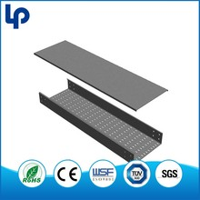 high performance TUValuminium perforated cable tray trunking , outdoor flexible perforated cable tray