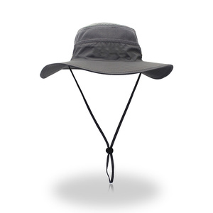 wholesale olive fishing outdoor printing sun summer women bucket hat