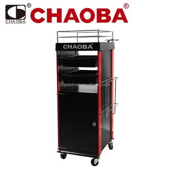 Chaoba Salon Trolleys / Beauty Trolley / Multi Function Tool Trolley /  Commercial Furniture CY