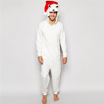 0ecef671c Pa0010a Loungewear Christmas Polar Bear Onesie - Buy Polar Bear ...